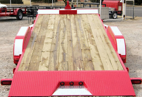 wood floor trailer